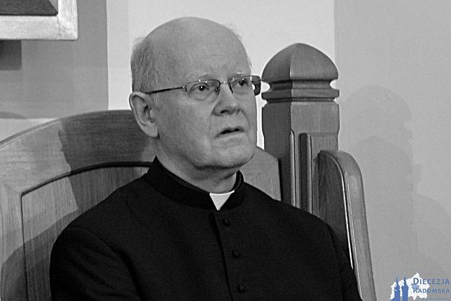 Ksiądz Edward Poniewierski nie żyje