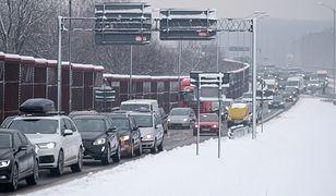 Autostrada A4 zablokowana w okolicy Góry św. Anny