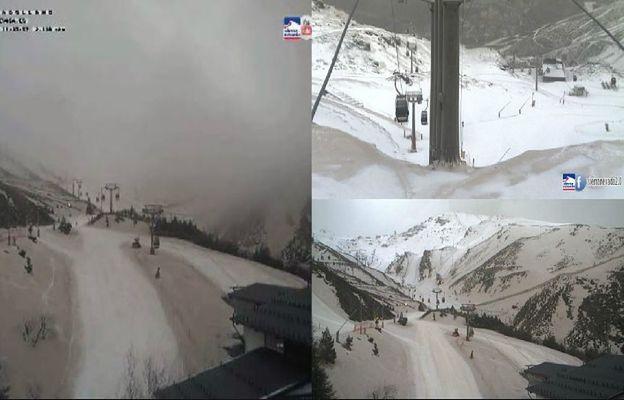 Niecodzienne zjawisko w Pirenejach. Narciarzom... niszczy narty