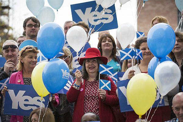 Sondaż: przeciwnicy niepodległości Szkocji mają tylko 4 pkt proc. przewagi