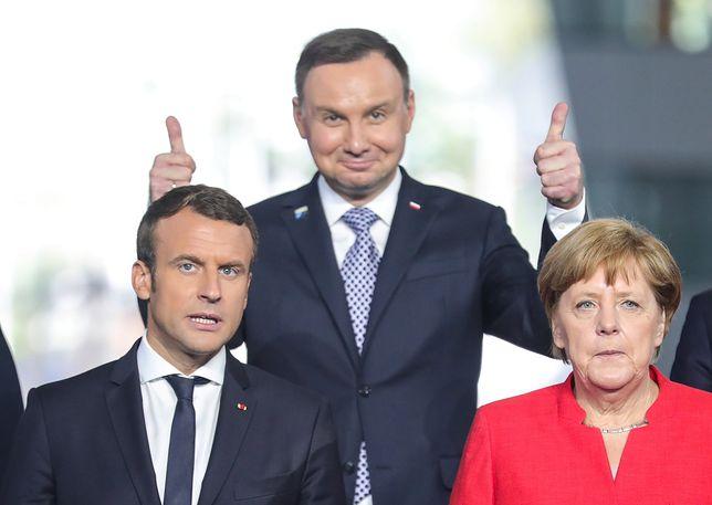 Family photo na szczycie NATO w Brukseli
