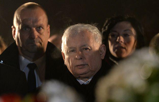 Jarosław Kaczyński uczcił w Starachowicach pamięć matki, Jadwigi Kaczyńskiej