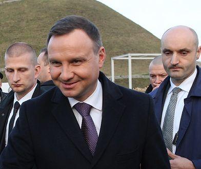 Aleksander Cz. zatrzymany tuż przed wizytą Andrzeja Dudy w Piekarach Śląskich. Miał list do prezydenta
