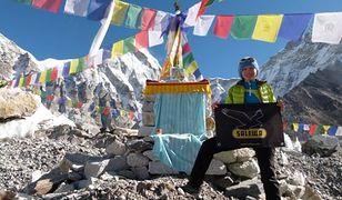 Kinga Baranowska atakuje Lhotse