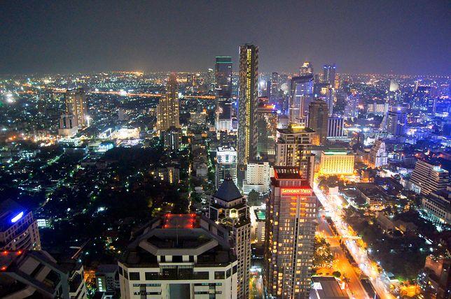 Bangkok nocą wygląda spektakularnie