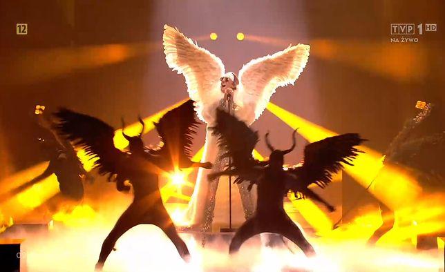 Norweski reprezentant TIX wystąpił na Eurowizji w iście biblijnej stylizacji.
