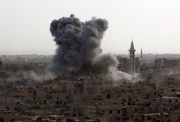 Rosyjskie samoloty zbombardowały szpital w Syrii? Moskwa zaprzecza