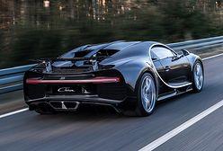 Ile pali Bugatti Chiron? Podano oficjalne dane
