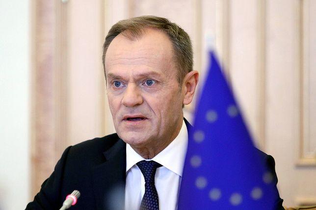 Donald Tusk, przewodniczący Rady Europejskiej.