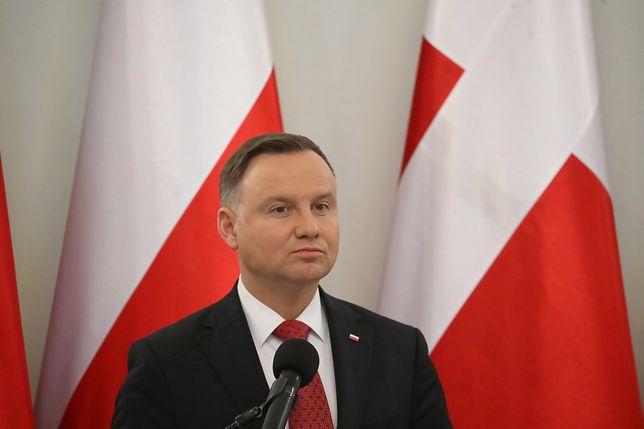Szczyrk. Prezydent Andrzej Duda odniósł się do sytuacji