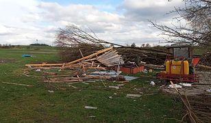 Wichury i burze nad Polską. Straty, wiele osób bez prądu