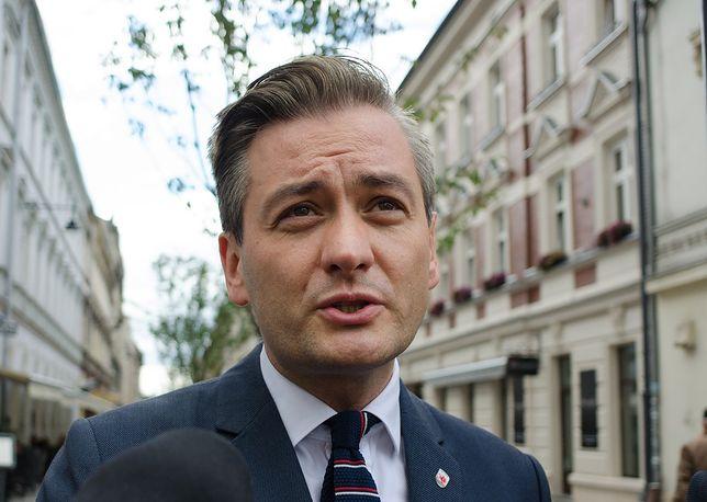 Robert Biedroń podjął decyzję. Ma być jedynką w wyborach do Parlamentu Europejskiego