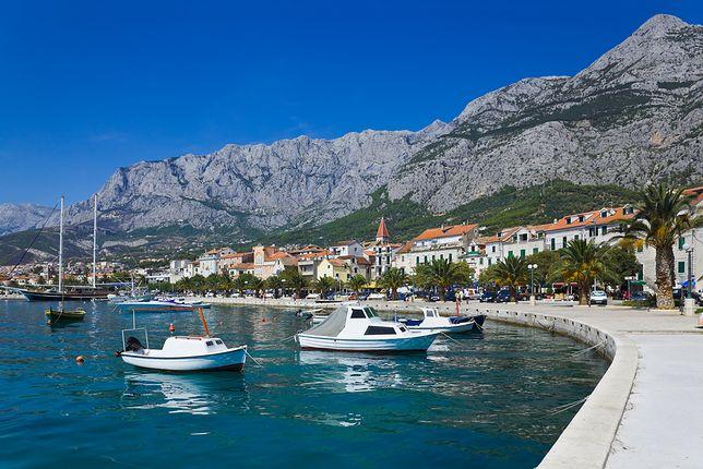 Wczasy nad morzem - Makarska, Chorwacja