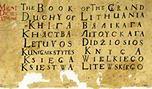 Promocja Księgi Wielkiego Księstwa Litewskiego