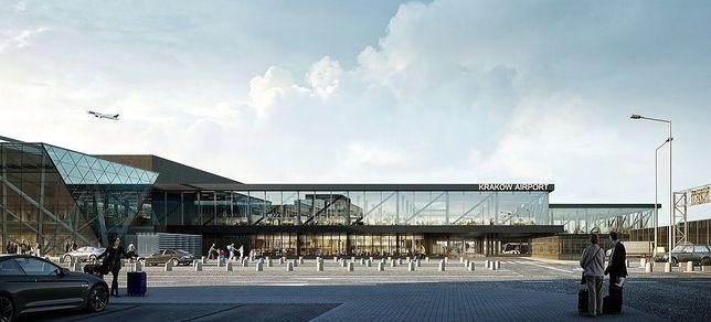 Pierwsza wizualizacja lotniska Kraków-Balice