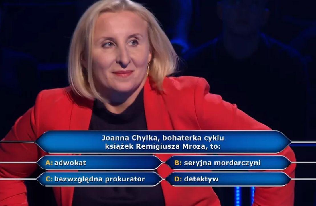 Pytanie o Chyłkę było warte 2 tys. zł