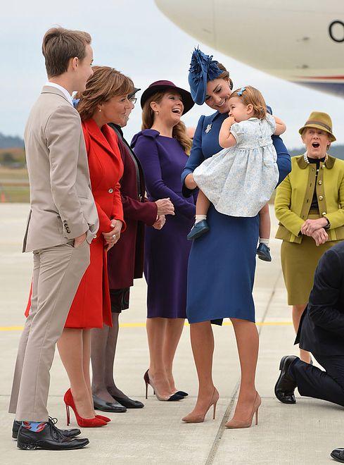 Wizyta rodziny królewskiej w Kanadzie