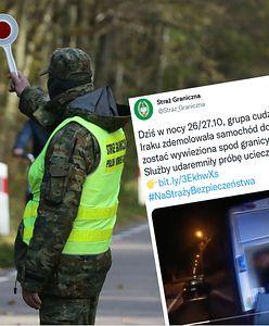 Migranci zdemolowali busa. Mieli nim wyjechać w głąb Polski