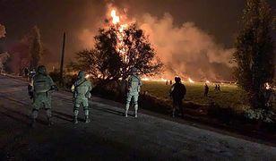 Eksplozja rurociągu w Meksyku