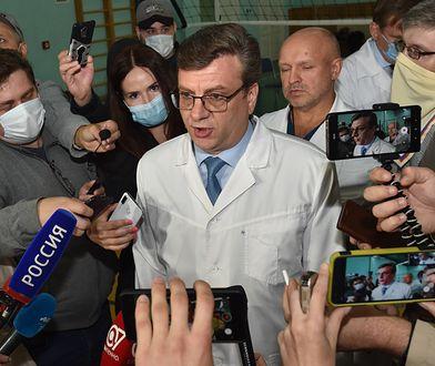 Odnalazł się były ordynator szpitala, w którym leżał Aleksiej Nawalny