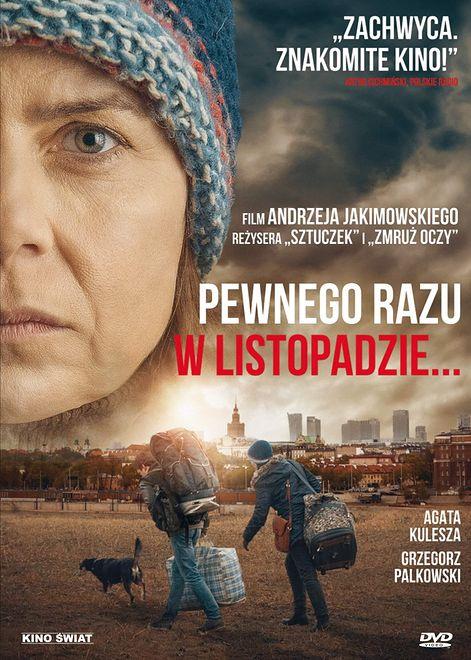 """Agata Kulesza w filmie """"Pewnego razu w listopadzie"""""""