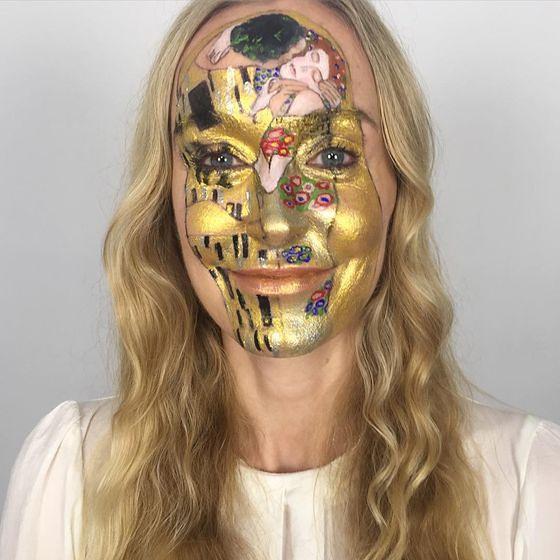 Niezwykłe makijaże Lisy Houghton