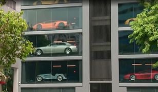 15-piętrowy salon samochodów w Singapurze