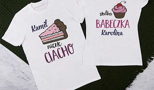 Koszulki dla par - doskonały prezent na różne okazje