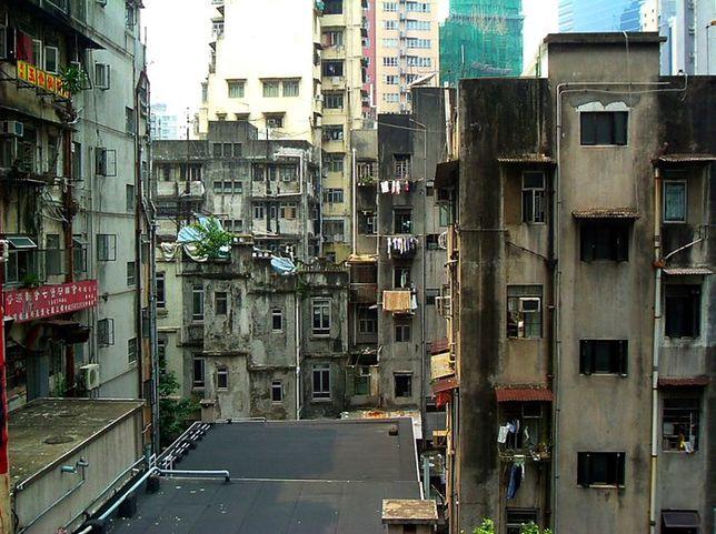 Hongkong - podniebne slumsy