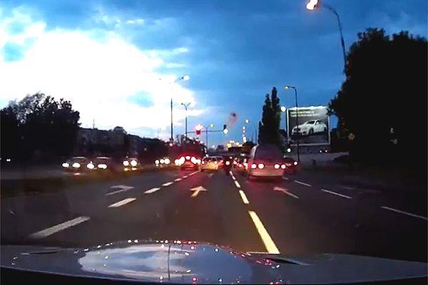 """Pasażer BMW M3: to """"Frog"""" siedział za kierownicą"""