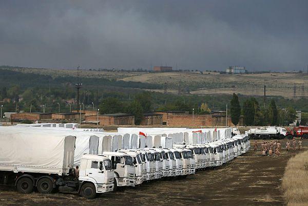 Czerwony Krzyż: Ukraina opóźnia wjazd rosyjskiego konwoju humanitarnego