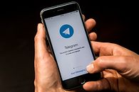 Szef Telegrama: w ciągu 3 dni zyskaliśmy 25 mln użytkowników - Aplikacja Telegram. Zdjęcie ilustracyjne (Getty Images)