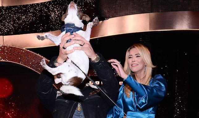 Sandra Kubicka przyprowadziła psa na widownię. Karolina Korwin-Piotrowska skomentowała