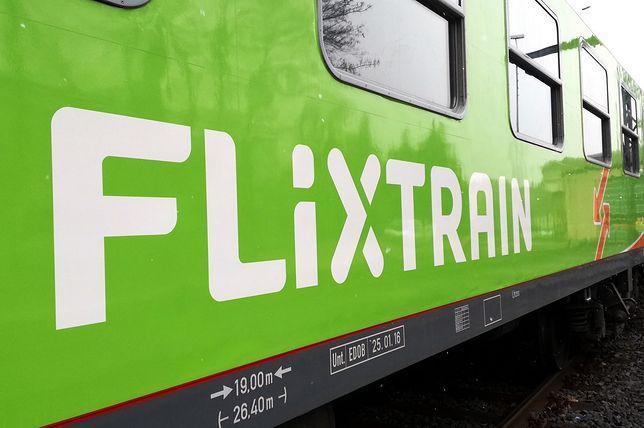 Po szynach będzie kursować siedem składów FlixTrain.