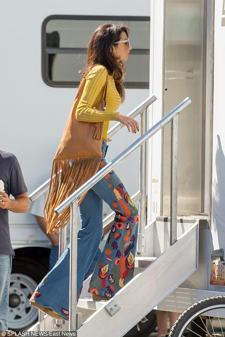 Żona George'a Clooneya w codziennej stylizacji
