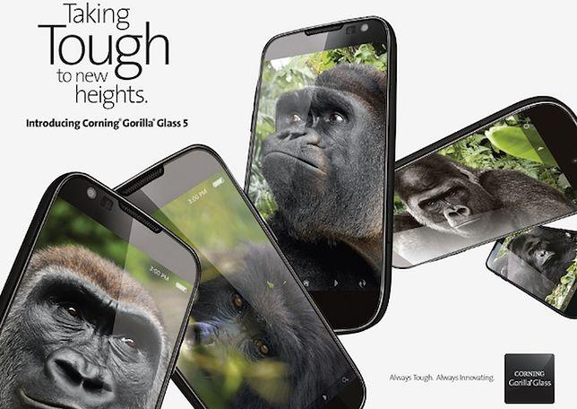 Nowa, mocniejsza wersja szkła, które będzie chronić wyświetlacze smartfonów - Gorilla Glass 5