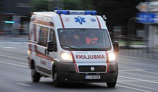 Wypadek busa na S8 koło Nadarzyna. Są ranni