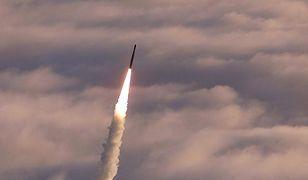 Test systemu obrony przeciwrakietowej GMD w bazie Vanderbilt w Kalifornii