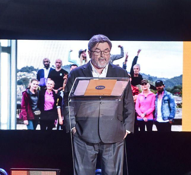 Edward Miszczak na konferencji ramówkowej