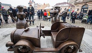 Bielsko-Biała. Nie tylko Kraków może się poszczycić pomnikiem Wawelskiego Smoka