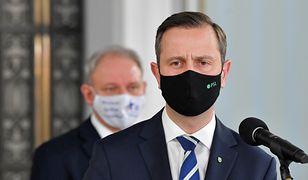 Ferie zimowe 2021. Władysław Kosiniak-Kamysz podczas konferencji w Sejmie