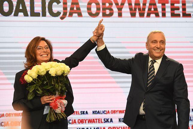 Grzegorz Schetyna w przypadku wygranych wyborów wskazał Małgorzatę Kidawę-Błońską jako kandydata na premiera
