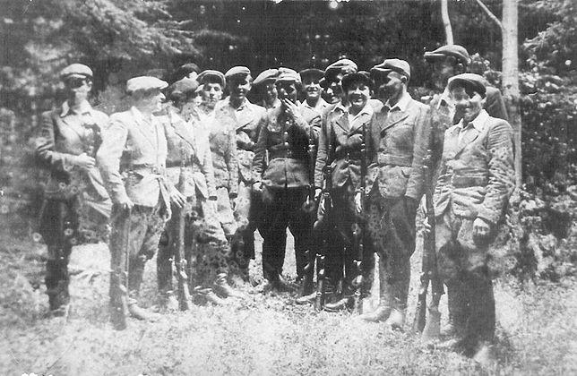 """Żołnierze ppor. Józefa Wieciecha """"Tamarowa"""""""