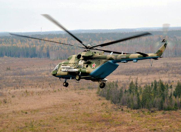 Katastrofa wojskowego śmigłowca w Rosji. Załoga zginęła