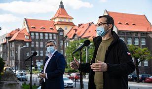 """Koronawirus. Mateusz Morawiecki o hejcie na górników i Śląsk. """"Emocjonalne wypowiedzi"""""""
