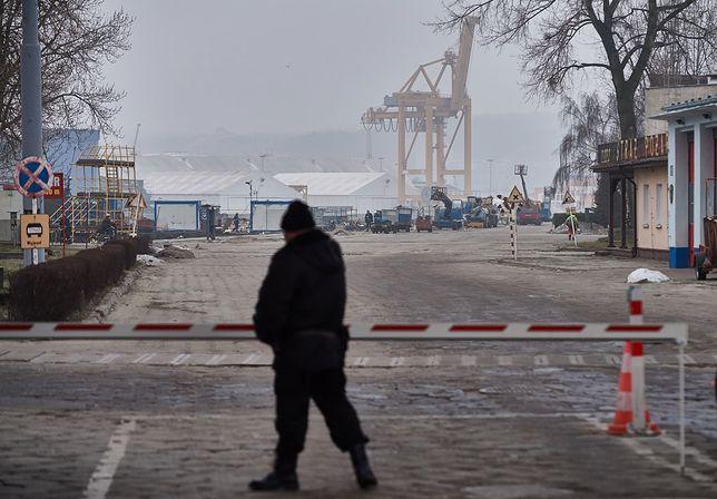 Tragiczny wypadek w Gdyni. 63-latek zginął w porcie