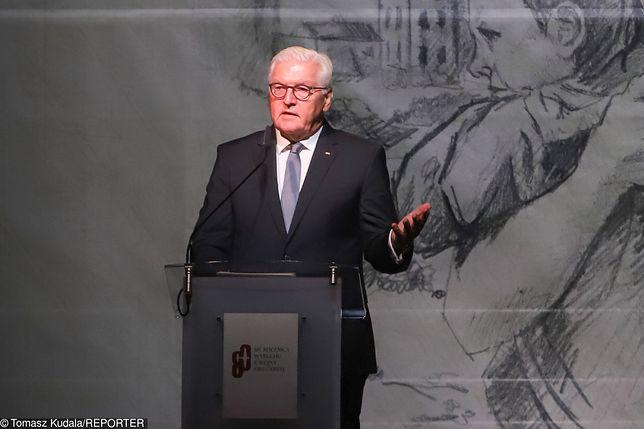 Prezydent Niemiec Frank-Walter Steinmeier zabrał głos ws. reparacji wojennych.