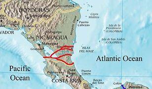 Rosja chce uczestniczyć w budowie kanału Pacyfik-Atlantyk w Nikaragui