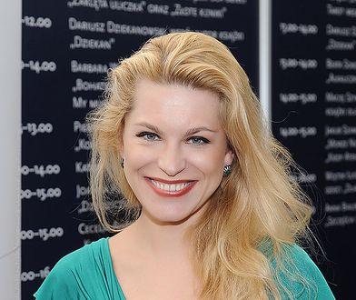 Katarzyna Bonda chętnie promuje swoje książki