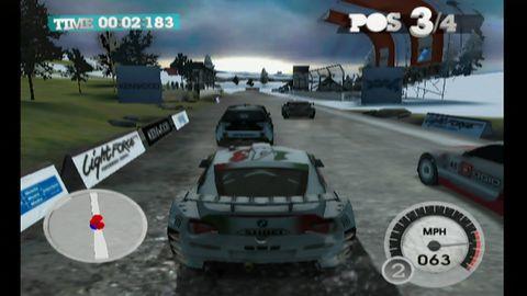 A oto, jak wygląda DiRT 2 na Wii